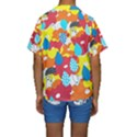Bear Umbrella Kids  Short Sleeve Swimwear View2