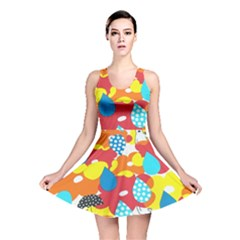 Bear Umbrella Reversible Skater Dress