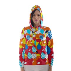 Bear Umbrella Hooded Wind Breaker (Women)