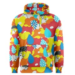 Bear Umbrella Men s Pullover Hoodie