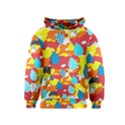 Bear Umbrella Kids  Pullover Hoodie View1