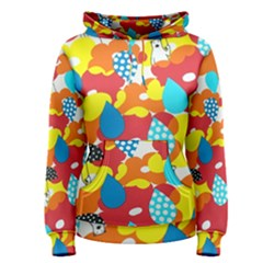 Bear Umbrella Women s Pullover Hoodie