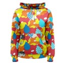 Bear Umbrella Women s Pullover Hoodie View1
