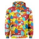 Bear Umbrella Men s Zipper Hoodie View1