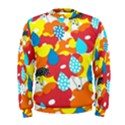 Bear Umbrella Men s Sweatshirt View1