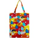 Bear Umbrella Zipper Classic Tote Bag View1