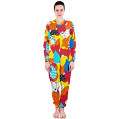 Bear Umbrella OnePiece Jumpsuit (Ladies)