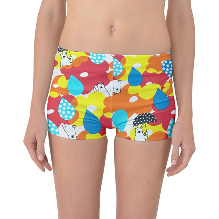 Bear Umbrella Reversible Bikini Bottoms