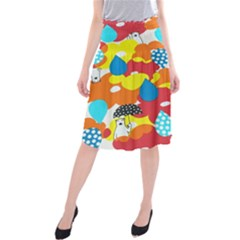 Bear Umbrella Midi Beach Skirt