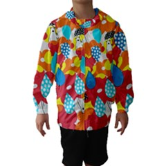 Bear Umbrella Hooded Wind Breaker (kids)