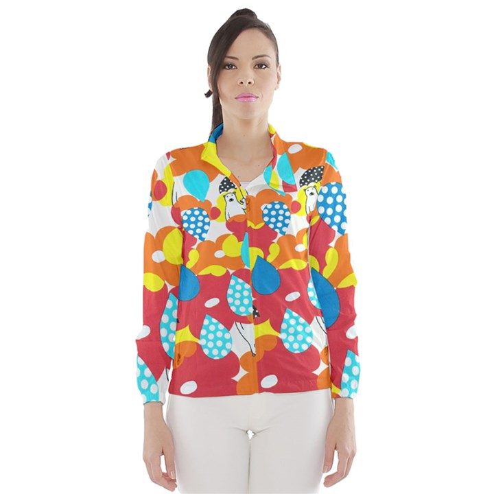 Bear Umbrella Wind Breaker (Women)