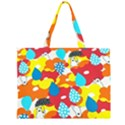 Bear Umbrella Large Tote Bag View1