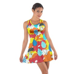 Bear Umbrella Cotton Racerback Dress