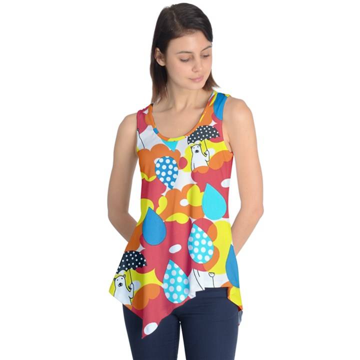 Bear Umbrella Sleeveless Tunic