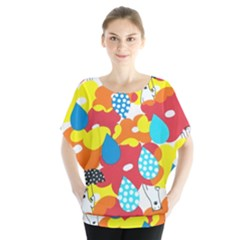 Bear Umbrella Blouse