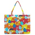Bear Umbrella Medium Zipper Tote Bag View1
