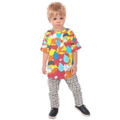 Bear Umbrella Kids  Raglan Tee