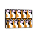 Cute Cat Hand Orange Mini Canvas 6  x 4  View1