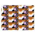 Cute Cat Hand Orange Apple iPad 3/4 Hardshell Case View1