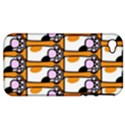 Cute Cat Hand Orange Apple iPhone 4/4S Hardshell Case (PC+Silicone) View1