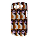 Cute Cat Hand Orange Samsung Galaxy S III Classic Hardshell Case (PC+Silicone) View3