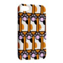 Cute Cat Hand Orange Apple iPhone 4/4S Hardshell Case with Stand View2