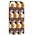 Cute Cat Hand Orange Apple iPhone 5 Hardshell Case with Stand View2