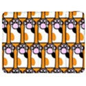 Cute Cat Hand Orange Samsung Galaxy Tab 7  P1000 Flip Case View1