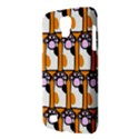 Cute Cat Hand Orange Galaxy S4 Active View3
