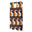 Cute Cat Hand Orange Samsung Galaxy Note 3 N9005 Hardshell Case View3