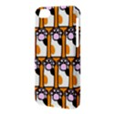 Cute Cat Hand Orange Apple iPhone 5C Hardshell Case View3