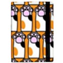 Cute Cat Hand Orange iPad Mini 2 Flip Cases View2