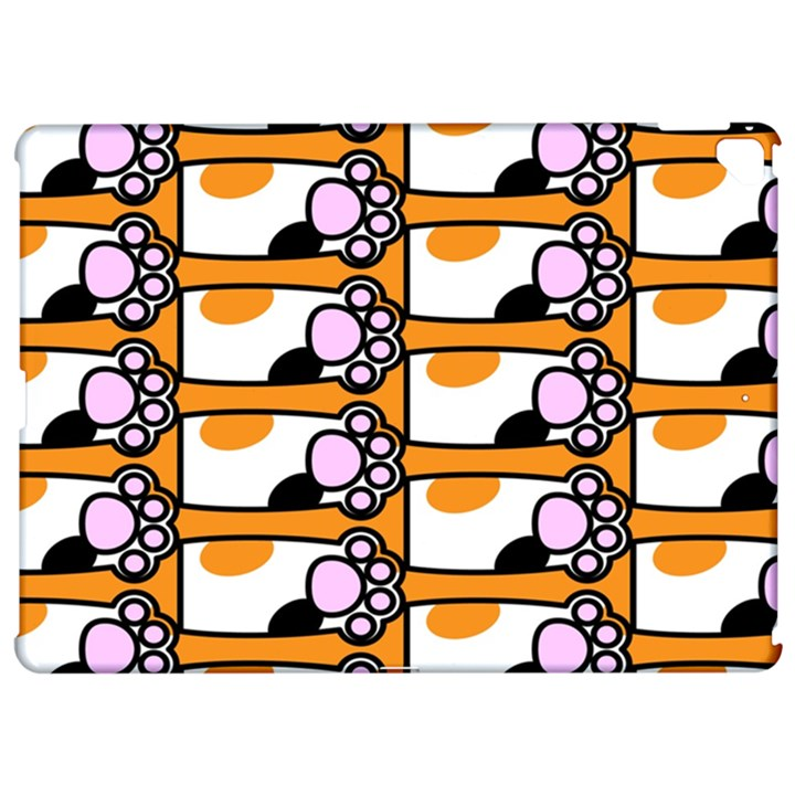 Cute Cat Hand Orange Apple iPad Pro 12.9   Hardshell Case