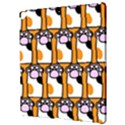 Cute Cat Hand Orange Apple iPad Pro 12.9   Hardshell Case View3