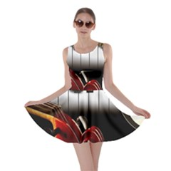 Classical Music Instruments Skater Dress