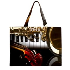 Classical Music Instruments Large Tote Bag