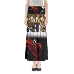 Classical Music Instruments Maxi Skirts
