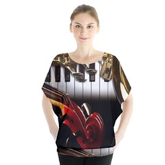 Classical Music Instruments Blouse