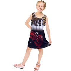 Classical Music Instruments Kids  Tunic Dress