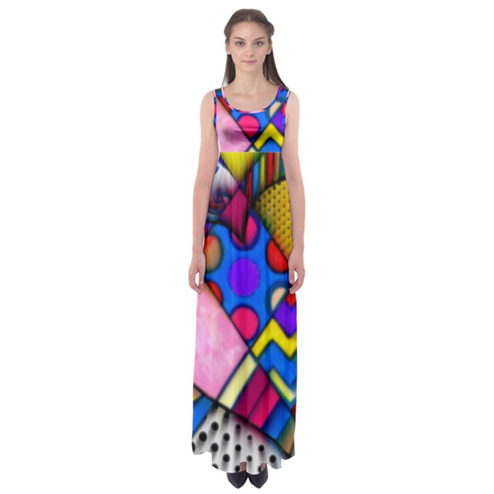 A Valentine  by WBK:  Empire Waist Maxi Dress