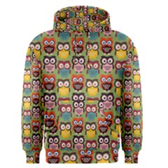 Eye Owl Colorful Cute Animals Bird Copy Men s Pullover Hoodie