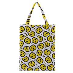 Face Smile Yellow Copy Classic Tote Bag