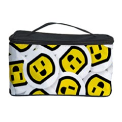 Face Smile Yellow Copy Cosmetic Storage Case