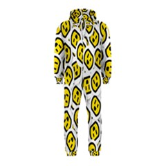 Face Smile Yellow Copy Hooded Jumpsuit (Kids)