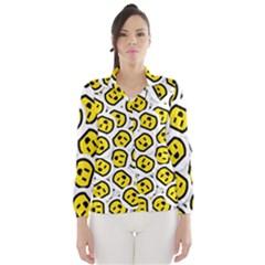 Face Smile Yellow Copy Wind Breaker (Women)