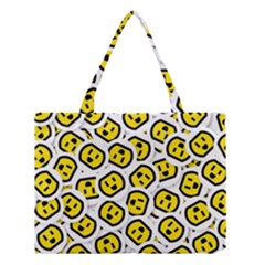 Face Smile Yellow Copy Medium Tote Bag