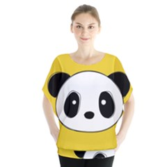 Face Panda Cute Blouse