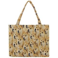Face Cute Dog Mini Tote Bag