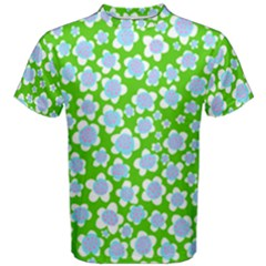 Flower Green Copy Men s Cotton Tee