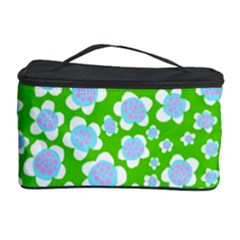 Flower Green Copy Cosmetic Storage Case